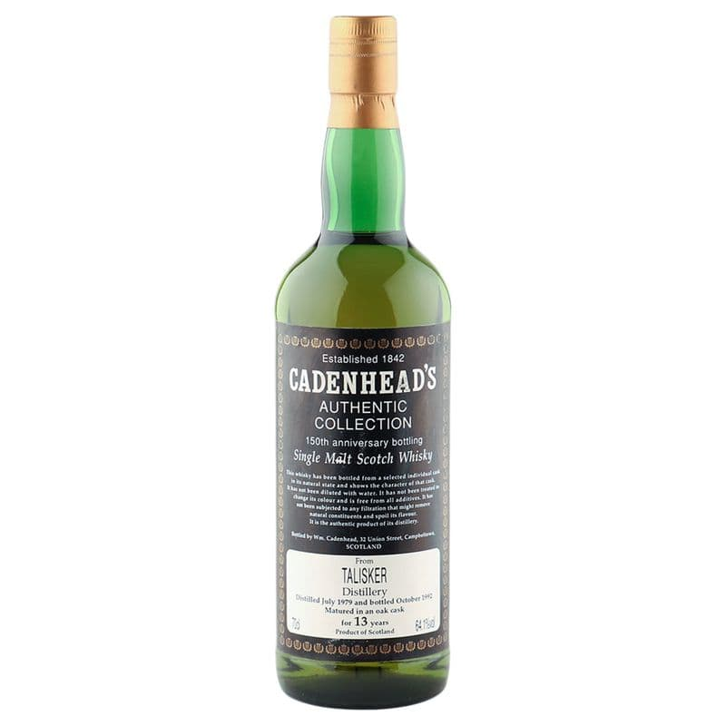Talisker 1979 13 Year Old, Cadenhead's 150th Anniversary 1992
