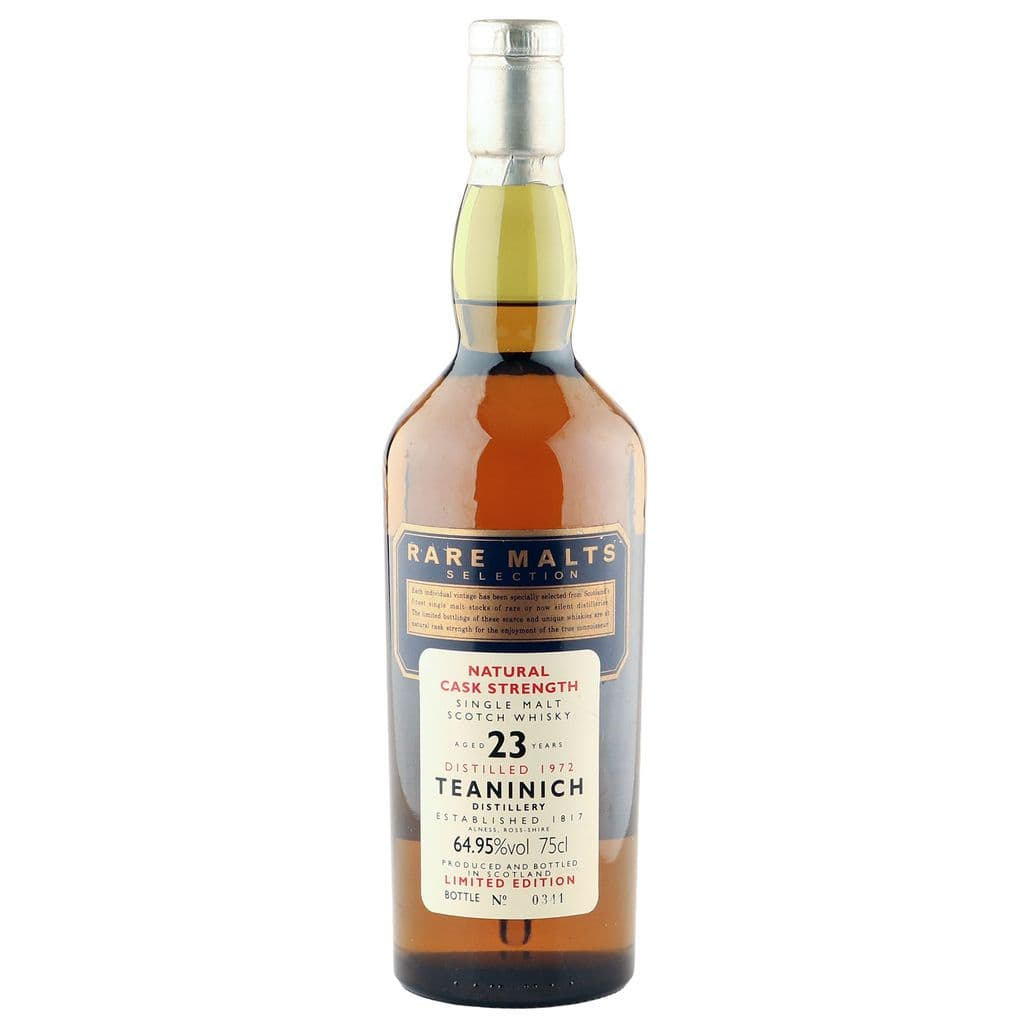 Teaninich 1972 23 Year Old, Rare Malts Selection | The Whisky Vault