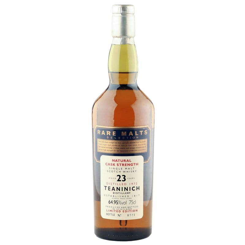 Teaninich 1972 23 Year Old, Rare Malts Selection - 64.95% ABV