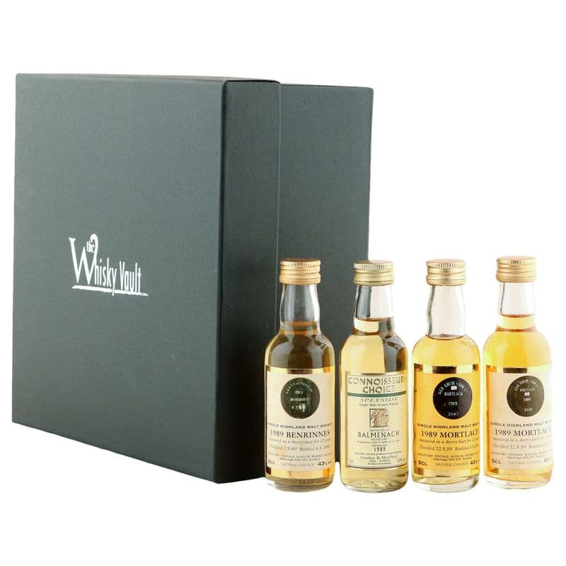 The 1989 Vintage Speyside Miniature Collection - 4 x 5cl