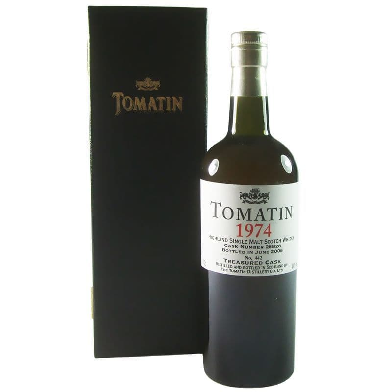 Tomatin 1974 Treasured Cask 2006 Bottling with Box