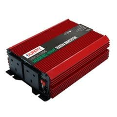 Durite 1500W 12V DC to 230V AC Compact Modified Wave Voltage Inverter