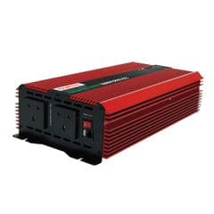 Durite 2000W 12V DC to 230V AC Compact Modified Wave Voltage Inverter