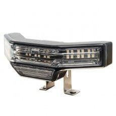Durite 25W R10 R65 LED Amber Warning Lamp with White Scenelight - 12/24V