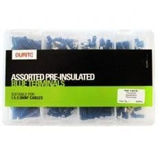 Durite Assorted Pre-insulated Blue Terminals