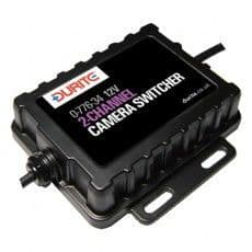 Durite CCTV 2CH Video and Audio Switch  Bx1