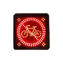 Durite LED Cycle Safety Sign. Bx1