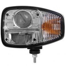 Durite LED Headlamp With DI & DRL (Left Side - For Left Hand Drive, Right Hand Traffic) - 12/24V