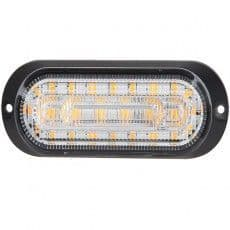 Durite R10 R65 High Intensity 6 Amber LED Warning Light With Direction Indicator - 12/24V