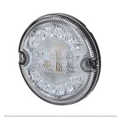 Durite Stop/Tail/DI 95mm Round LED Lamp 12/24 volt Pk.1