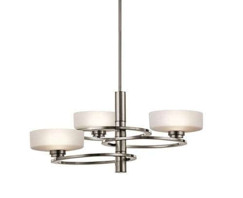 Aleeka 3 Light Chandelier - Kichler Lighting