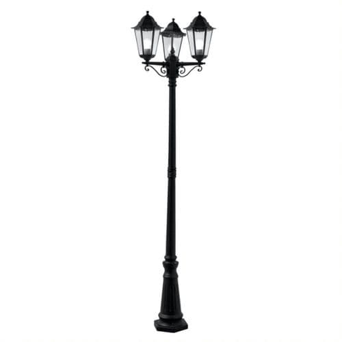 Alex Triple Lamp Post - Searchlight Lighting