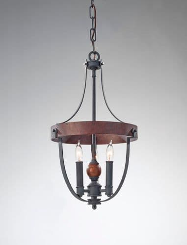 Alston 3 Light Ceiling Light - Feiss Lighting