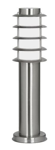 Altay Small Stainless Steel Bollard Light - Oaks Lighting