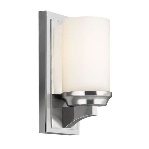 Amalia Small Single Bathroom Wall Light - Feiss Lighting