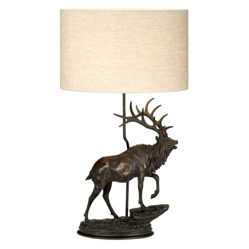 Angus Table Lamp - Elstead Lighting.