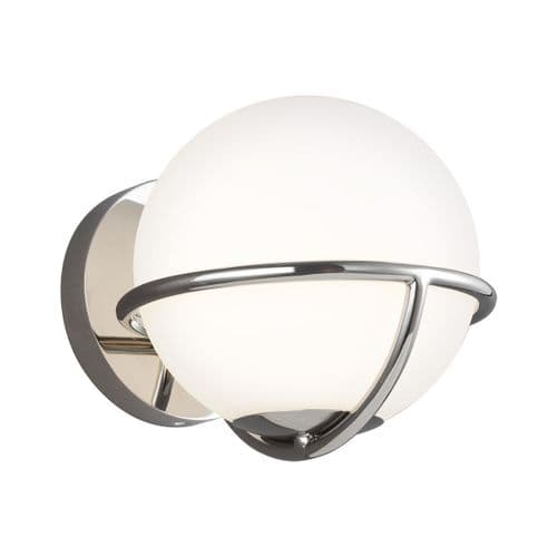 Apollo Nickel Wall Light - Feiss Lighting