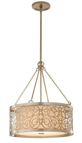Arabesque 4 Light Ceiling Light Pendant - Feiss Lighting