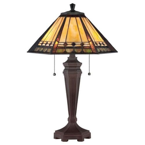 Arden Tiffany Table Lamp - Quoizel Lighting