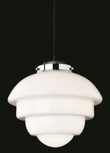 Art Deco 4947 Single Light Pendant - Firstlight Lighting