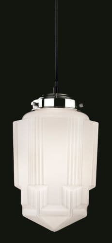 Art Deco 4949 Single Light Pendant - Firstlight Lighting