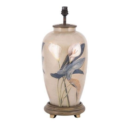 Arum Lily Tall Urn Table Lamp - Jenny Worrall