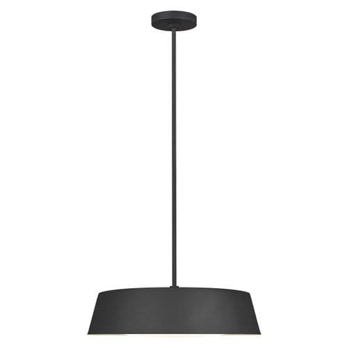 Asher Black Ceiling Light Pendant - Feiss Lighting