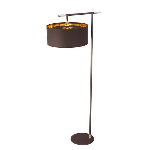Balance Brown Floor Lamp - Elstead Lighting