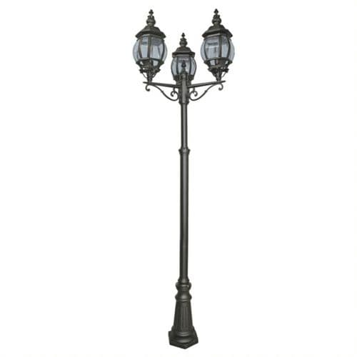Bel Aire Triple Head Lamp Post - Searchlight Lighting