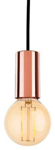 Berkeley Copper Single Light Pendant - Firstlight Lighting