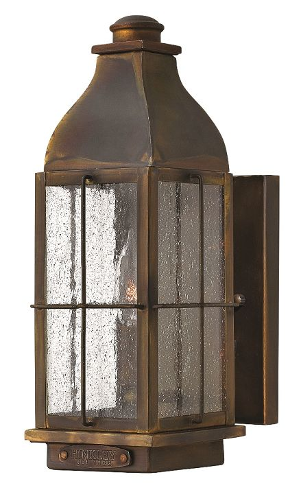 Elstead Bingham Small Wall Lantern | HK-BINGHAM-S | Hinkley | Luxury Lighting