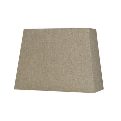 "Bracken 14"" Linen Rectangular Lamp Shade - Oaks Lighting"