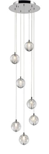 Bubbles 7 Light Ceiling Light Pendant - Avivo Lighting