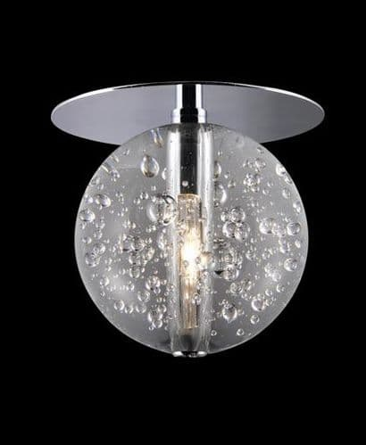 Bubbles Single Flush Ceiling Light - Avivo Lighting