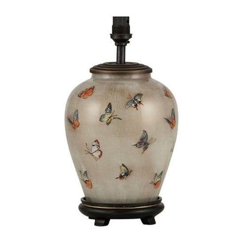 Butterflies Small Urn Table Lamp - Jenny Worrall