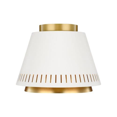 Carter Flush Ceiling Light - Feiss Lighting