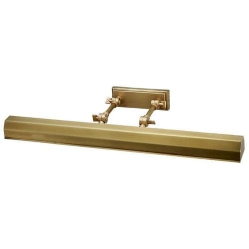 Chawton Aged Brass Large Picture Light - Elstead Lighting