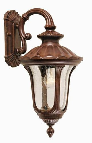 Chicago Small Suspended Wall Lantern - Elstead Lighting