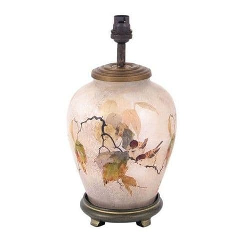 Chinese Bird Small Urn Table Lamp - Jenny Worrall