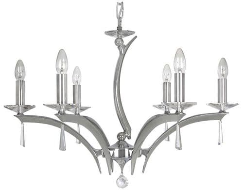 Chrome Crystal Chandeliers