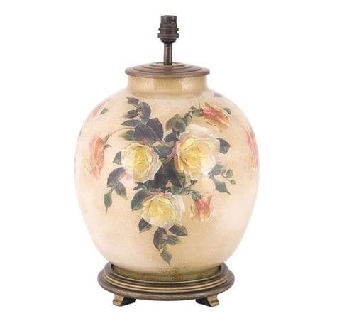Classic Rose Large Urn Table Lamp - Jenny Worrall