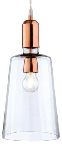 Craft Copper Single Light Pendant - Firstlight Products - SALE - Was £56.88