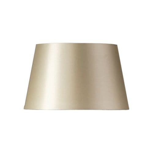 "Cream 14"" Faux Silk Drum Lamp Shade - Oaks Lighting"