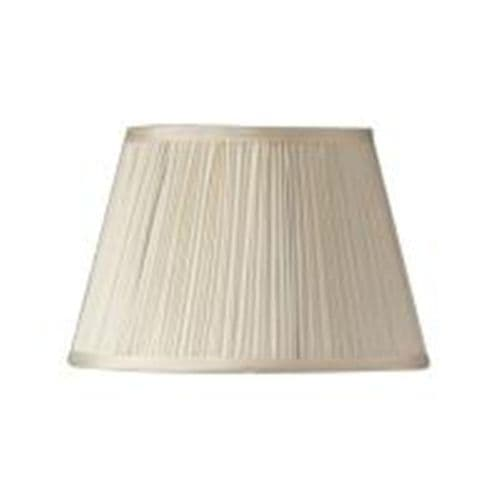 "Cream 14"" Mushroom Pleat Lamp Shade - Oaks Lighting"