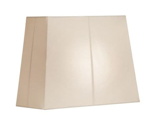 "Cream 14"" Rectangular Lamp Shade - Oaks Lighting"