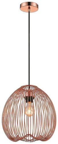 Cupid Copper Single Light Pendant - Luxury Lighting