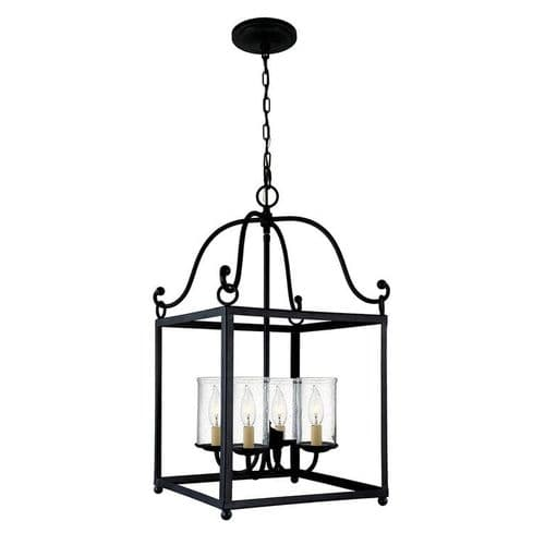 Declaration 4 Light Interior Lantern - Feiss Lighting