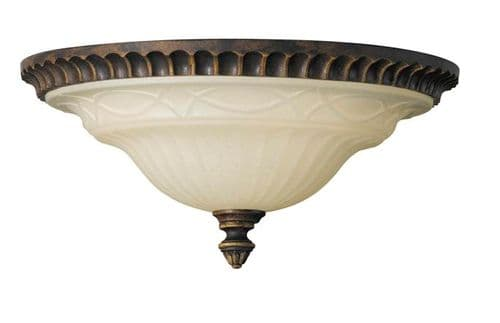 Drawing Room Flush Ceiling Light - Feiss Lighting