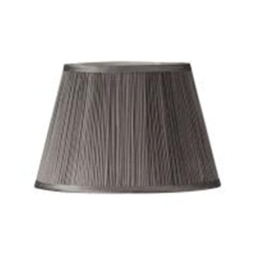 "Earl Grey 14"" Mushroom Pleat Lamp Shade - Oaks Lighting"