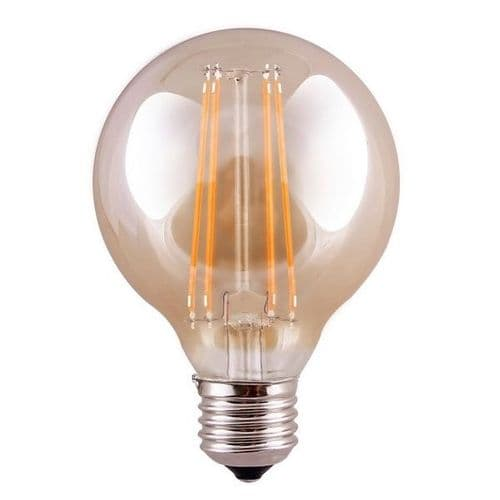 ES G95 Globe Tinted LED Light Bulb 7 Watt